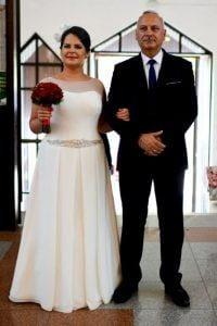 suknia ślubna dla puszystych