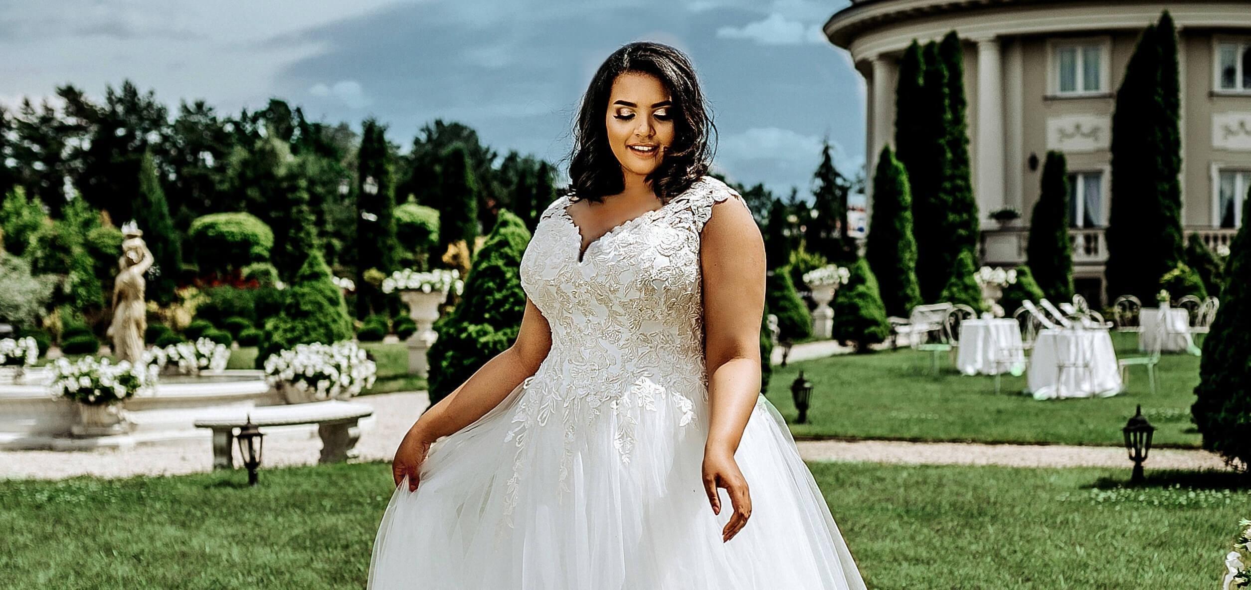 suknia biała